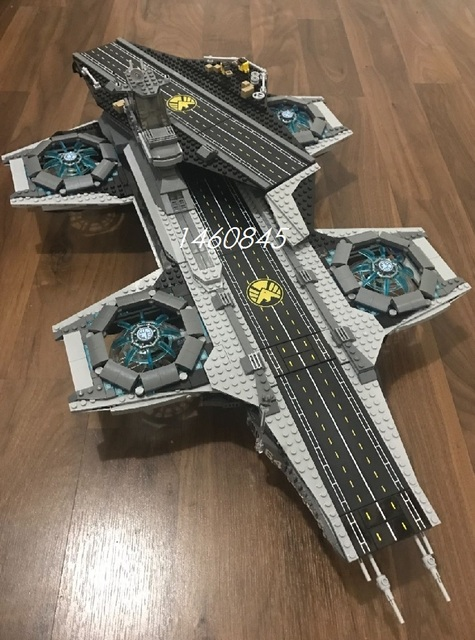 SY911 Super Hero The SHIELD Helicarrier Fid Spinner toy