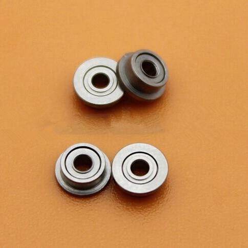50pcs/lot  Flange bearing  MF52ZZ  2*5*2.5 Shielded Miniature deep groove Ball Bearings  2x5x2.5 mm