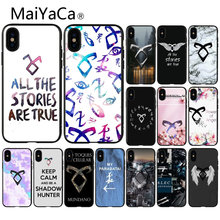 MaiYaCa shadow hunters Colorful Cute Phone Accessories Case for iPhone 8 7 6 6S Plus 5 5S SE XR X XS MAX Coque Shell(China)