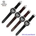 4 cores 22mm estilo clássico pulseira de couro genuíno faixa de relógio de substituição de liberação rápida para garmin fenix chronos