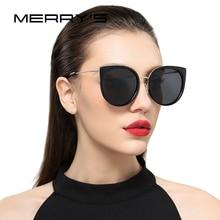 MERRY'S Women Classic Brand Designer Cat Eye Polarized Sunglasses Fashion Sun Glasses S'6018
