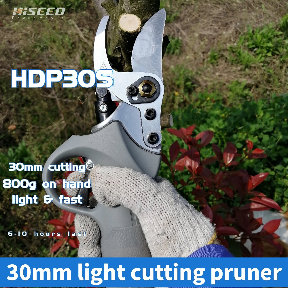 electric pruning shears fruit tree Working time 6 8 hours Lithium battery transplant trimming tool