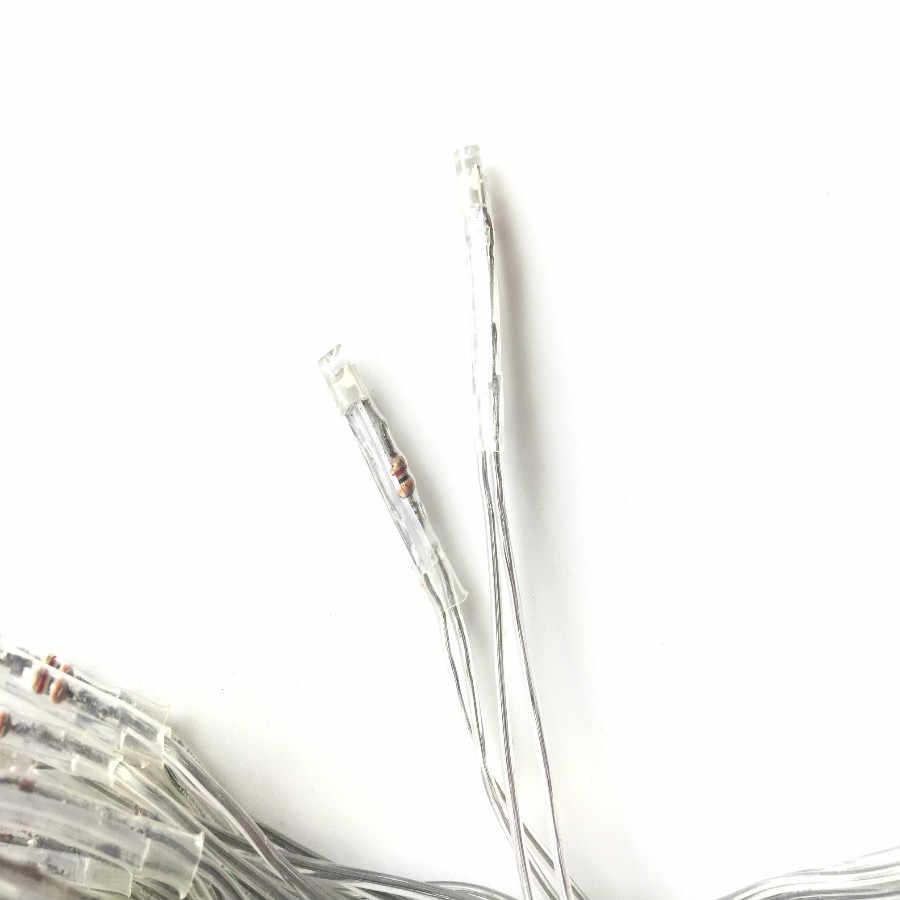 Niska cena piaskownica stołowa dekoracji materiał elektryczny seria LED lampy niskiego napięcia 220 V string lampy 34 głowice