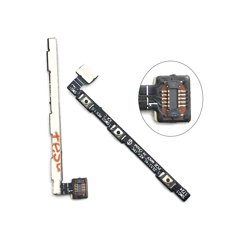 new for asus zenfone 4 ze554kl 5 5 u0026quot  power on off button key switch flex cable replacement