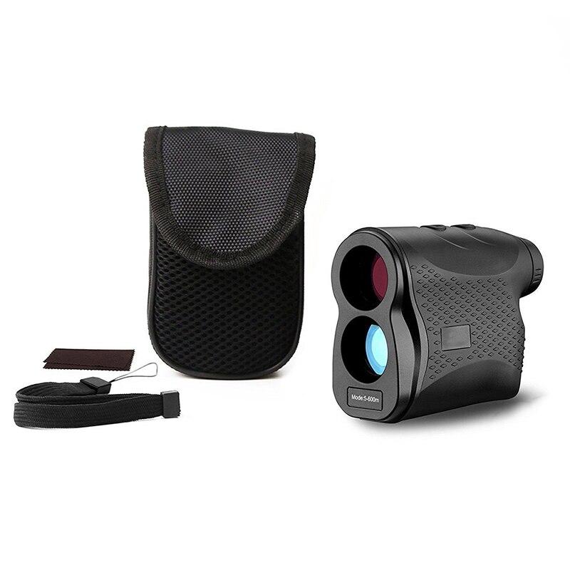 600 M monoculaire chasse golf laser télémètre ruban à mesurer télescope trena laser télémètre distance mètre numérique