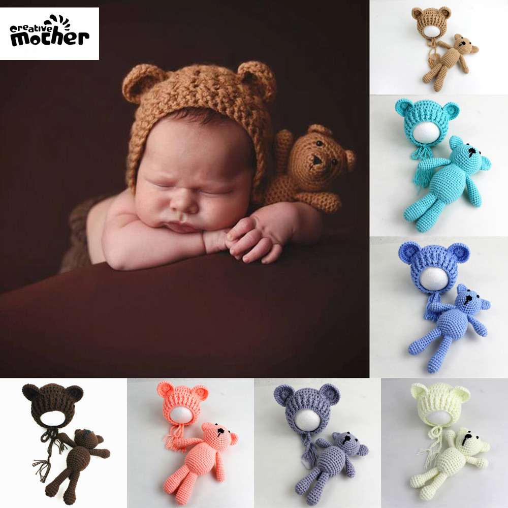 Accessories New Fashion Newborn Baby Photography Props Accessories Baby Photography Clothing Baby Photo Prop Accessory Crochet Baby Gifts Knit Jumpsuits Carefully Selected Materials Mother & Kids