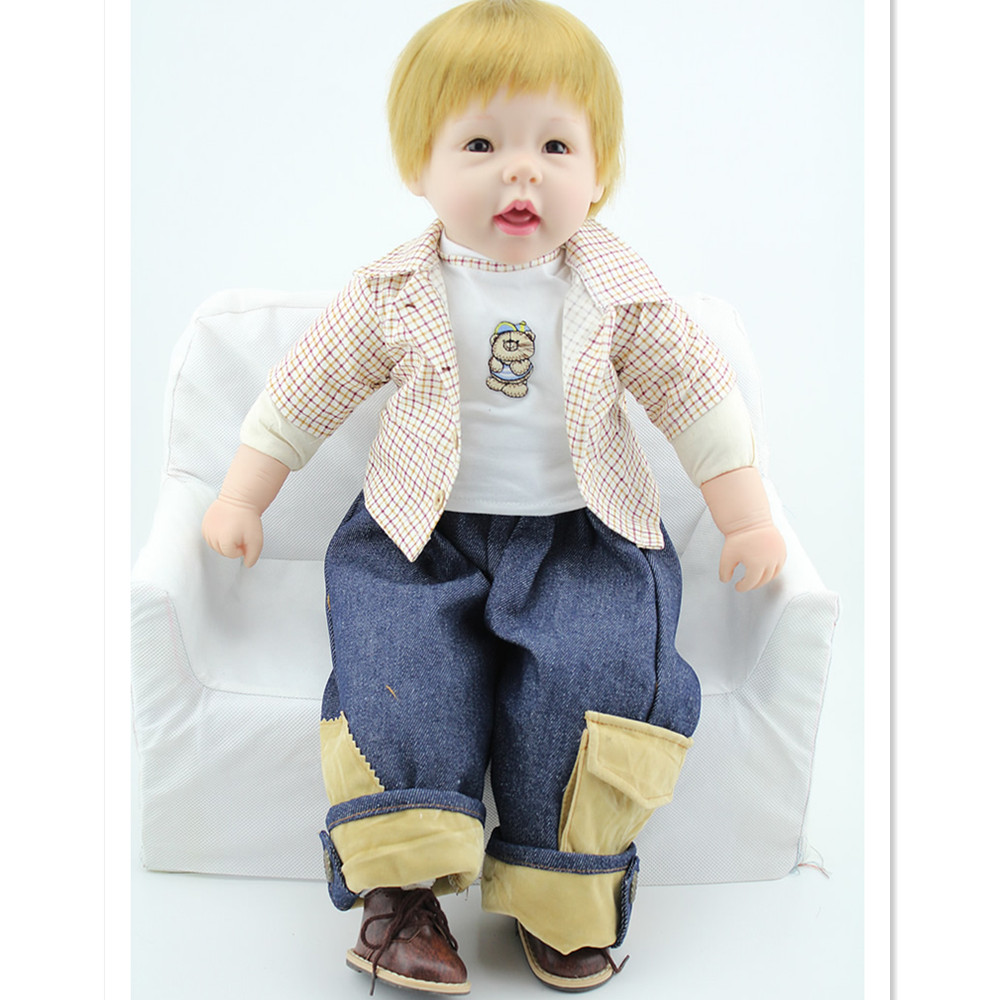 European Fashion Silicone Reborn Baby Dolls Toys for Girls Children,Hot 22 Inch Real Reborn Babies Doll with Clothes 20 inch silicone reborn dolls sleeping baby bonecas with clothes real looking newborn baby doll toys for girls children