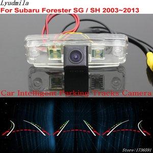 Image 1 - Lyudmila Car Intelligent Parking Tracks Camera FOR Subaru Forester SG / SH 2003~2013 / Car Back up Reverse Rear View Camera