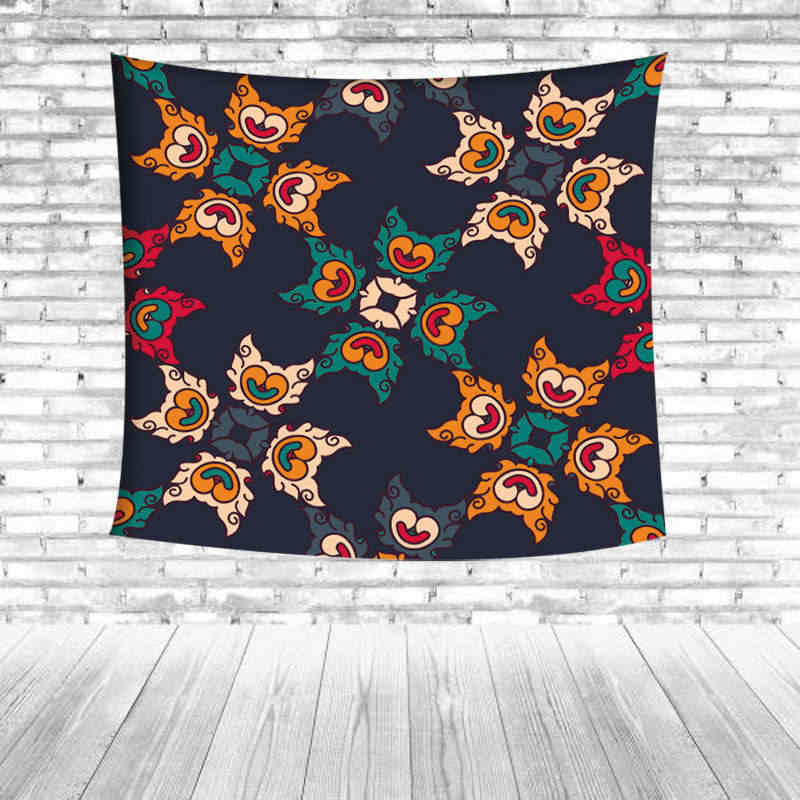 Ideas antiguas que significa tapiz para colgar en la pared estera de Yoga Toalla de playa granja de poliéster inimaginable manta de arte decoración de fiesta para el hogar