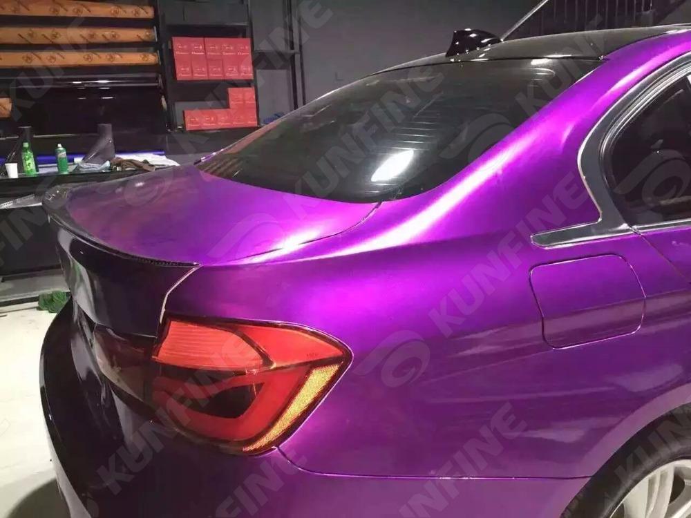 Aurora Purple Car Vinyl film 2