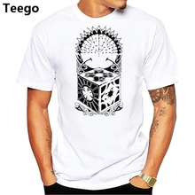Polynesian Tribal Puzzle Box Male O-Neck Short Sleeve Puzzlebox T-Shirt New  white 4a294d95d393
