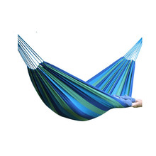 Outdoor leisure hammock widened thickened canvas double  indoor park camping adults rocking chair swing 2 person