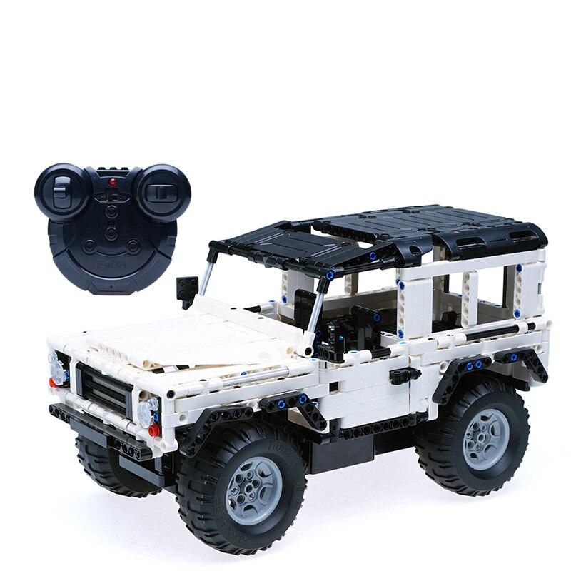 533 pièces Nouvelle Technologie Télécommande Voiture Blocs Compatible LegoINGLYS Technique SUV L'assemblée Jouets Éducatifs Pour Les Enfants