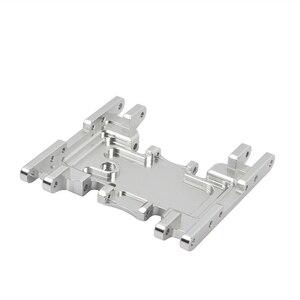 Image 3 - Aluminium Legierung Skid Platten getriebe box untere befestigung für Axial SCX10 II 90037 90046 90047 90058 AX31379