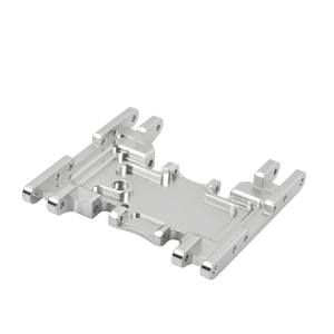Image 3 - Aluminum Alloy Skid Plates gear box bottom mount for Axial SCX10 II 90037 90046 90047 90058 AX31379
