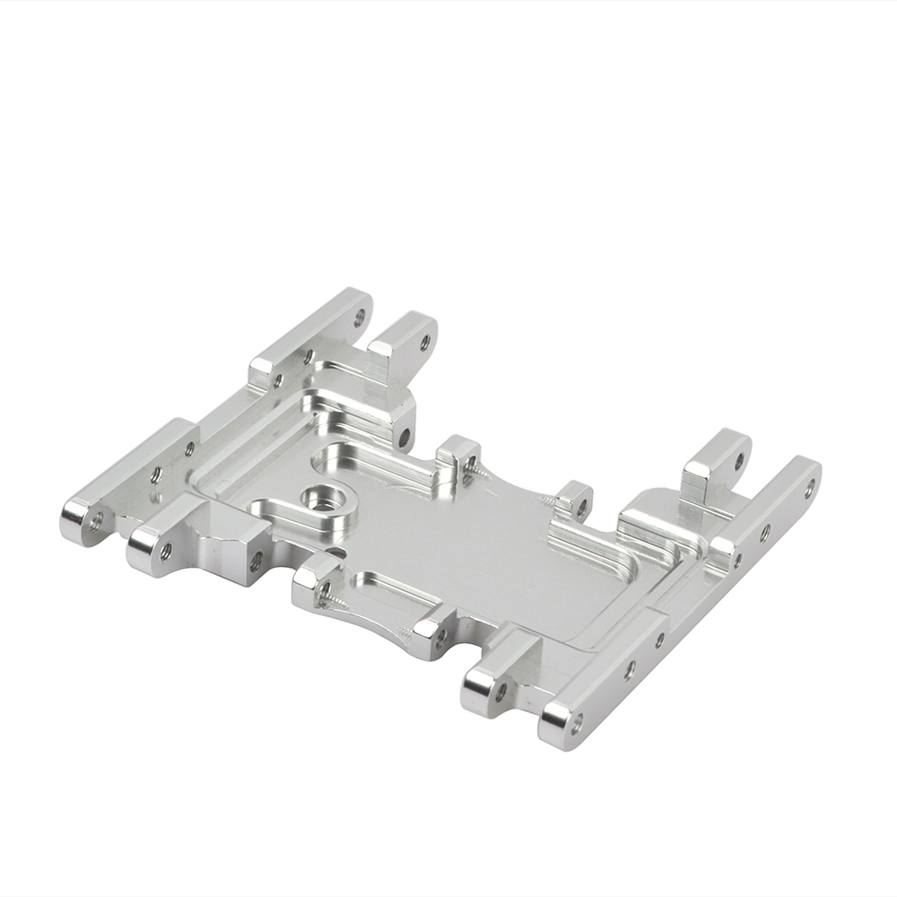 Image 3 - RCAIDONG Aluminum Alloy Skid Plates gear box bottom mount for Axial SCX10 II 90037 90046 90047 90058 1/10 Rc Crawlers AX31379-in Parts & Accessories from Toys & Hobbies