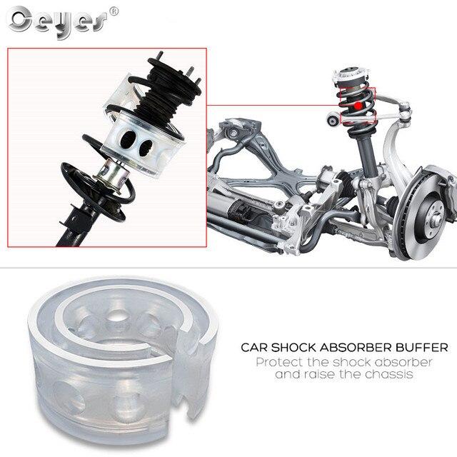 Ceyes 2 piezas amortiguador de coche Suspensión de coche estilo Autobuffer primavera accesorios de alimentación amortiguadores de coche cojín Avtobafery