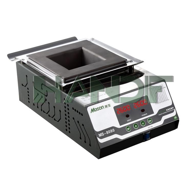 Mini lead free soldering pot MS-8080 ms 80 lead free digital soldering pot environment friendly solder pot