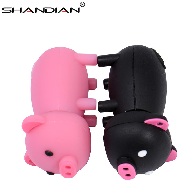 Image 5 - SHANDIAN Pen Drive Cartoon Pink Pig Pendrive 4GB 8GB 16GB 32GB 64GB Usb Flash Drive USB 2.0 Flash Memory Stick Disk on key Gift-in USB Flash Drives from Computer & Office