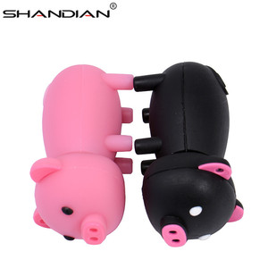 Image 5 - Shandian Pen Drive Cartoon Roze Varken Pendrive 4 Gb 8 Gb 16 Gb 32 Gb 64 Gb Usb Flash Drive usb 2.0 Flash Memory Stick Disk On Key Gift
