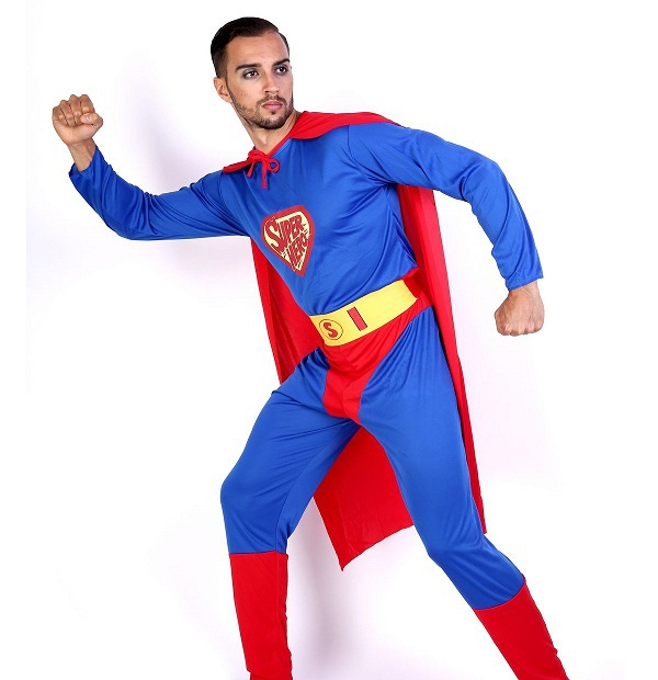 Adults Superman Superwoman Supergirl Cool Cosplay Jumpsuit Coverall Suit unisex men women Costume Superhero Halloween party  sc 1 st  AliExpress.com & Adults Superman Superwoman Supergirl Cool Cosplay Jumpsuit Coverall ...