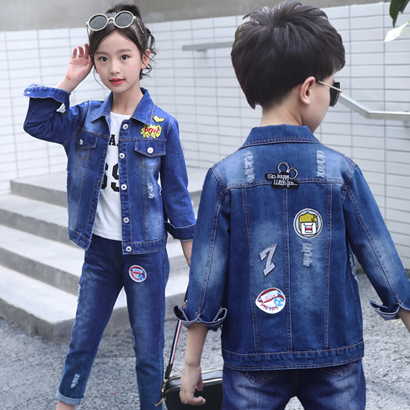 Boys Fashion 3pcs Children Clothing Set Teens Girls Clothing Suit Cotton Casual Kids Clothes 2018 Autumn Roupas Menino