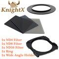KnightX Нейтральной Плотности ND объектива камеры Комплект цветных фильтров для Cokin P для Nikon D5200 D5100 D3200 D3300 49 52 55 58 62 57 72 77 82