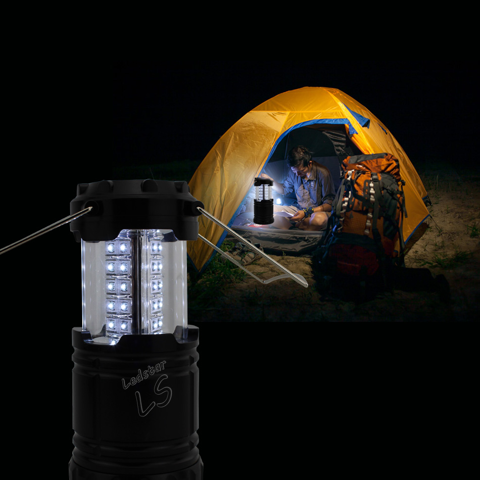 Ultra Bright Collapsible 30 Led Lightweight Camping Lanterns tent Light For Hiking Camping Emergencies Portable Lantern