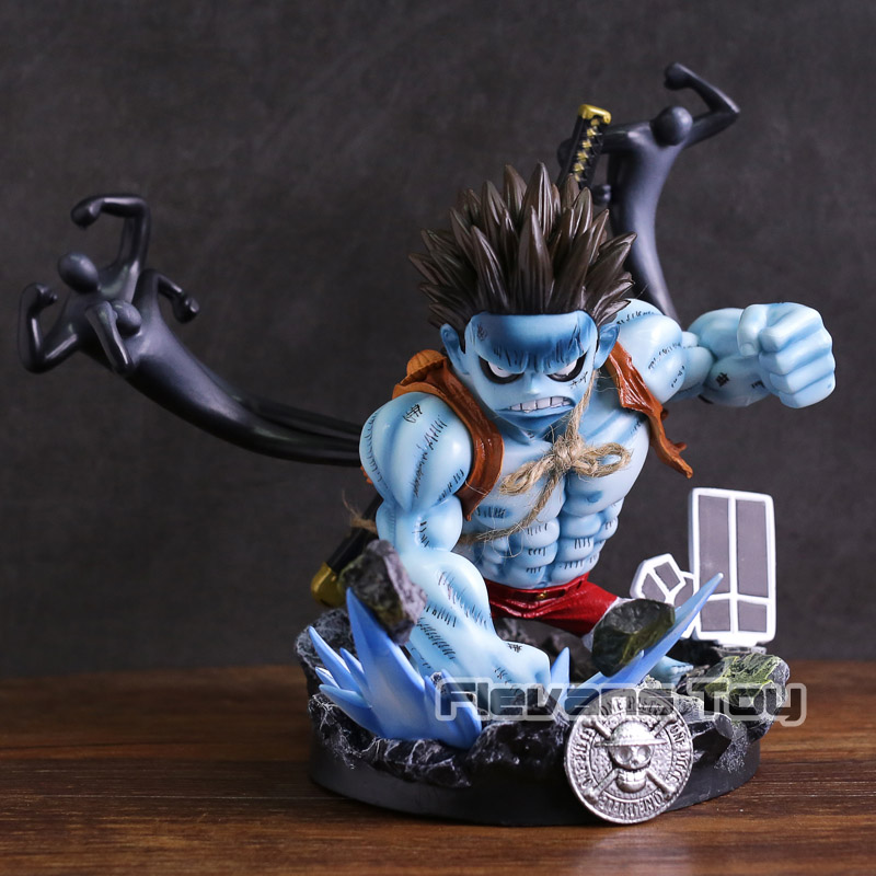 Anime One Piece Nightmare Monkey D Luffy GK Statue Figure Collectible Model Toy
