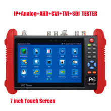 Frees shiping New Product Pro Security AHD SDI TVI CVI IPC CCTV TESTER  7INCH IPC Touch Screen Camera Video PTZ Tester Brand NEW