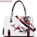 Pájaros de vuelo! totalizador de las mujeres de la vendimia de las mujeres de lujo bolso de cuero bolsas de mensajero bolsa de diseñador de alta calidad bolsa de hombro LM3430fb