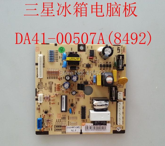 95% new good working 100% tested for Samsung refrigerator pc board Computer board DA41-00507A(8492) 4100399 on sale 100% new good working for refrigerator computer board power module rs21ssh rs552nru da92 00646b da92 00278b board