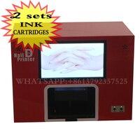 2014 CE Approved Free Shipping Computer Built Digital Nail Art Machine Art Nail Printer
