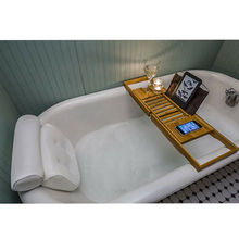 Luxury Home Bath Pillow Deep Cushion Non Slip Luxury Bathtub Neck Support Suction Cup Bath Cushion