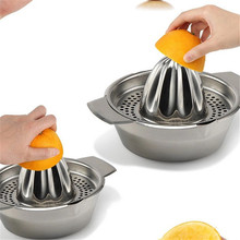 купить Mini Home Appliances Mini Juicer Handheld Orange Lemon Juice Maker Stainless Steel Manual Squeezer Press Squeezer Citrus Juicer дешево