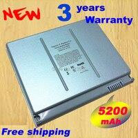 ホット+新しい6 6cellノートパソコンのバッテリーapple macbook pro 15