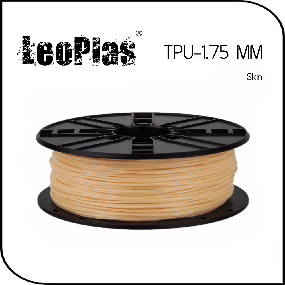 ФОТО Worldwide Fast Delivery Manufacturer 3D Printer Material 1kg 2.2lb Soft Rubber 1.75mm Flexible Skin TPU Filament