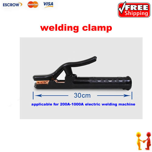 Freeshipping!! 200-1000A Welding Copper Electric Soldering Pliers Clamp Black freeshipping 7mbr15sa120 7mbr15sa120 70