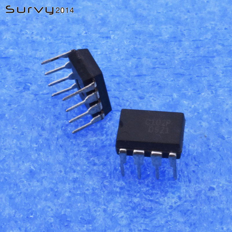 5PCS//10PCS X9C102P X9C102 8PINS Digitally Controlled Pot XDCP New IC