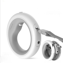 MOESTAR UFO Retractable Dog Leash Ring Led lighting Flexible Dog Puppy Traction Rope Belt  Pet Collar for All Kinds Dog