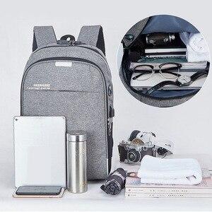 Image 5 - Shellnail Wasserdichte Laptop Tasche Reise Rucksack Multi Funktion Anti Diebstahl Tasche Für Männer PC Rucksack USB Lade Für Macbook IPAD
