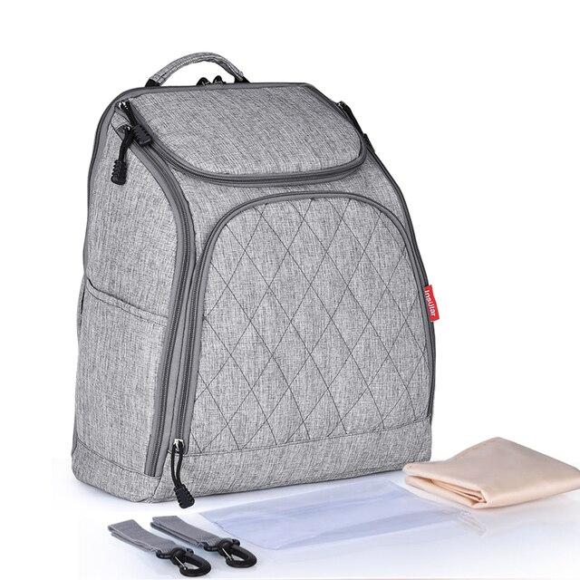 Waterproof Maternity Ny Bag Large Capacity Shoulder Bags Baby Multi Function Backpack Nursery Diaper