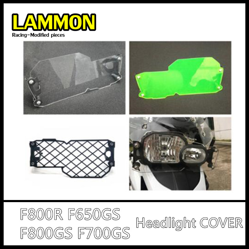 Motorcycle Headlight Guard GS Style Clear Front Lamp Protector Cover Fit For BMW F650GS F700GS F800GS GS650 GS700 GS800 image