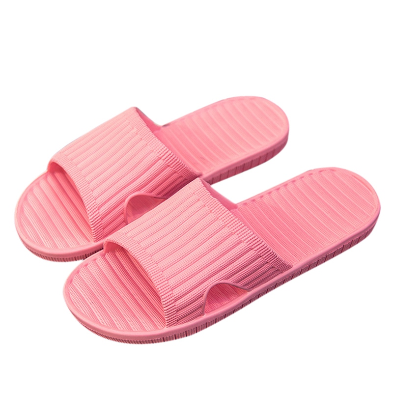 PVC Slippers Female Summer Weomen Slippers Solid Flat Slides Non-Slip Soft Beach Sandals Casual Shoes Lady Shoes 2018 summer ladies thick bottom drag slope beach shoes for women casual non slip flat bottomed slippers female slides shoes