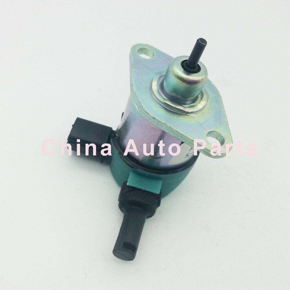 Fuel Stop Solenoid 17208-60015 17208-60010 For Kubota D905 D1005 D1105 Tractor