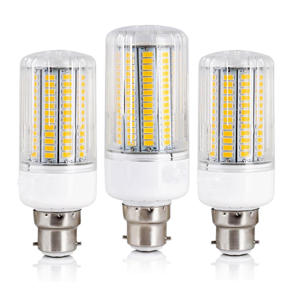 все цены на LED Corn Lights B22 Bayonet 5730 SMD Energy Saving Bulbs 12W 15W 20W 25W 30W Lampada Ampoule Lighting Leds Lamp Bombillas Bulb онлайн