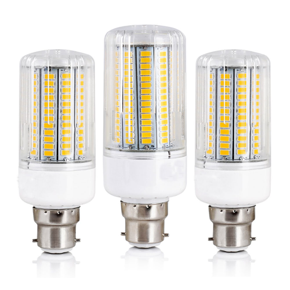 LED Corn Lights B22 Bayonet 5730 SMD Energy Saving Bulbs 12W 15W 20W 25W 30W Lampada Ampoule Lighting Leds Lamp Bombillas Bulb