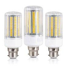 Luci Del Cereale Del LED B22 Baionetta 5730 SMD Lampadine A Risparmio Energetico 12 W 15 W 20 W 25 W 30 W Lampada Fiala Bombillas Led Lampada di Illuminazione Lampadina