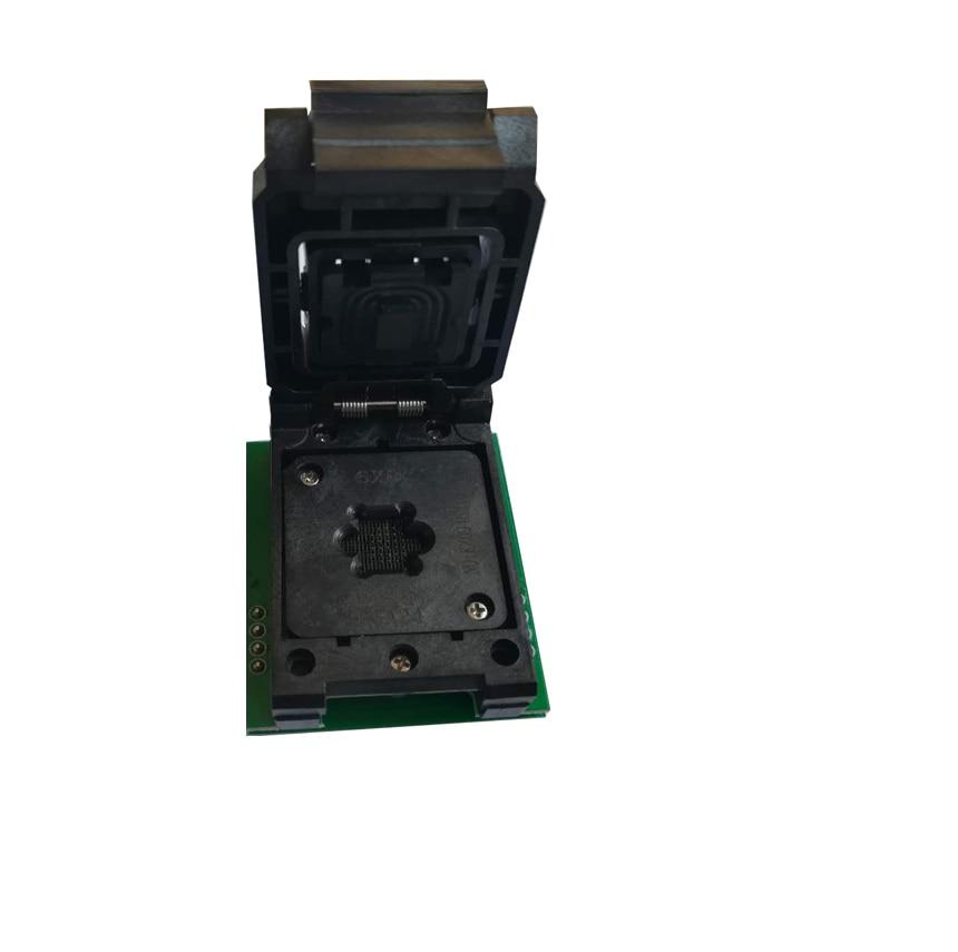 все цены на BGA24 to DIP8 Adapters for RT809H RT809F TL866CS TL866A EZP2010 EZP2013 Programmer +1pcs Chip Frame IC Size 6*8mm онлайн