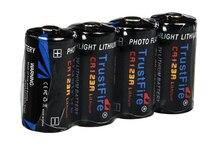 Bateria de Lítio Descartáveis para a para a Câmera e vídeo 8 Pçs e lote Trustfire Cr123a 123a 3 V 1400 MAH Câmera e vídeo Game Player Não-bateria Recarregável